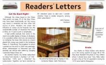 John Cannons letter in Chess Magazine